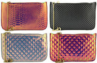 LYDC HOLOGRAPHIC PARTY CLUTCH BAG FREE DELIVERY IN UK P&P