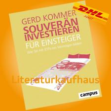 SOUVERÄN INVESTIEREN FÜR EINSTEIGER | GERD KOMMER |Wie Sie mit ETFs ein Vermögen