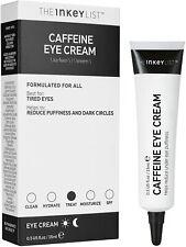 The INKEY List Caffeine Eye Cream 15ml - NEW