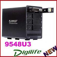 ORICO 9548U3-BK 4 Bay USB3.0 3.5'' HDD Enclosure - Black