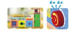 Viga Complete 5 Units Colourful Children's/Kids Kitchen Set (FREE DELIVERY)