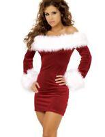 746| robe sexy lingerie-tenue érotique-MERE MAMAN-NOEL-costume-déguisement-nuit