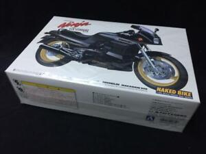 Aoshima 1:12 Kawasaki GPZ900R Ninja Plastic Model Kit - Top Gun - New Sealed Box