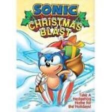 NEW SONIC CHRISTMAS BLAST VHS - FACTORY SEALED