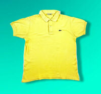 Vintage Chemise lacoste Polo T Shirt Size 6 Made In France
