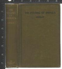 New listing The Feeding Of Animals by Jordan, Whitman Howard 1906 Hc