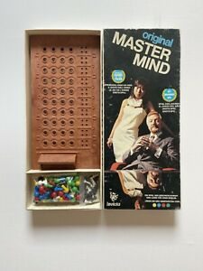 Invicta Original Mastermind (Vollständig) Denkspiel Taktikspiel 1972 70er