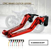 CNC 1 PAIR Lever Long Adjustable Brake Clutch Levers for HONDA CBR600F 11-13