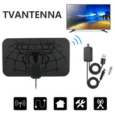 TV Aerial Antenna Digital 4K HDTV Indoor Signal Amplified Thin Freeview 960Mile