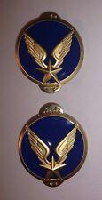 Boutons de cols Collet Veste Vareuse ALAT  Aviation légère de l'Armée de terre