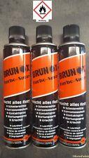 Brunox Turbo-Spray 3 x 400 ml Multifunktionsöl / Schmiermittel / Kriechöl