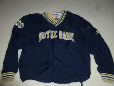 VINTAGE NOTRE DAME COLLEGE FOOTBALL NCAA TEAM JACKET SIZE XL CHAMPION PULL OVER