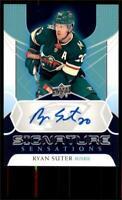 2020-21 UD Series 1 Signature Sensations #SS-RS Ryan Suter - Minnesota Wild