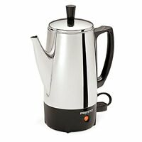 NEW Presto 02822 6 Cup Stainless Steel Coffee Percolator FREE SHIPPING