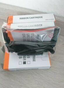 6x Bixolon GRC-220BR Farbbandkassette, Schwarz/Rot