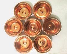7pcs Tibet Tibetan Buddhist Copper Water Offering Bowls