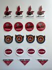19 Vintage Sticker For Cox, McCoy, OK Cub, and Ohlsson Rice