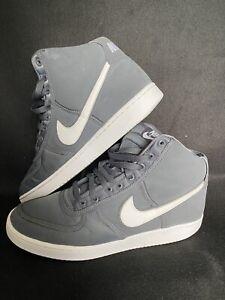 Men's Nike Vandal High - Uk Size 10 High Tops Retro Grey & White