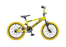 "Rooster Big Daddy Kids 18"" Wheel Freestyle BMX Bike Bicycle Gyro Yellow RS118"