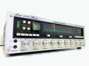 MARANTZ 4400 Stereo Quadradial Receiver 250 Watts RMS Vintage 1976 RARE LlKE NEW