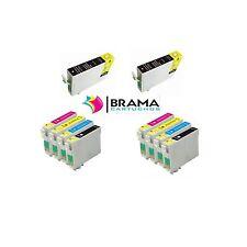 10 X CARTUCHOS COMPATIBLES NONOEM EPSON T1811 -T1814  Xp-322, XP-422, XP-425