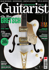 GUITARIST #372 09/2013 GRETSCH CENTER-BLOCKS Arcane Roots GIBSON SG SUPRA @NEW@
