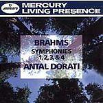 Brahms: Symphonies 1, 2, 3, & 4, - (Compact Disc)