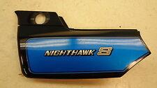1984 Honda CB700 SC Nighthawk S H764' left side body cover trim