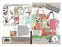 Anita Goodesign Patchwork Tote Embroidery Machine Design CD NEW PROJ05