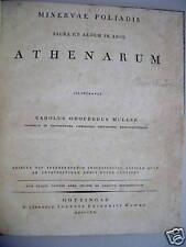 Minervae Poliadis sacra et aedem in Arce Athenarum 1820