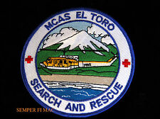 MCAS EL TORO SEARCH & RESCUE PATCH US MARINES HUEY HELICOPTER PIN UP MAW SOMS