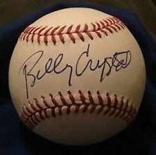 billy crystal signed baseball