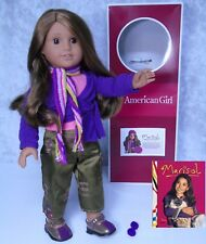 "American Girl 18"" DOLL MARISOL & MEET OUTFIT BOOK Scarf Accessory In AG BOX!"