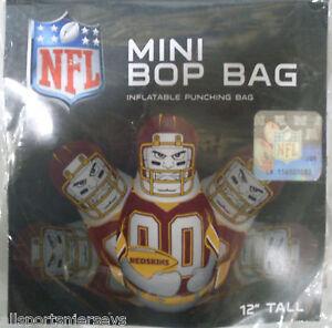 NFL Washington Redskins 12 inch Inflatable Mini Bop Bag by Fremont Die