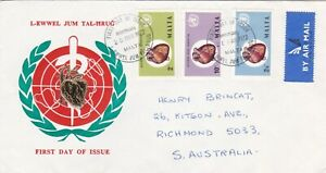 Malta 1972 World Health Day  First Day Cover