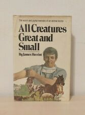 1ST ED All Creatures Great and Small by James Herriot Hardcover Dust Jacket