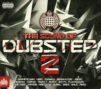 THE SOUND OF DUBSTEP 2 various artists (2X CD compilation 2010 mixed) very good