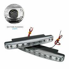 2PCS Universal 12V 8 LED Daytime Running Lights DRL Car Fog Day Driving Lamp UK