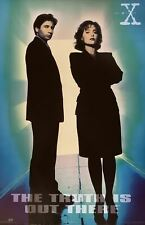 X-Files The Truth Is Out There 1995 Out of Print Poster 23 X 35
