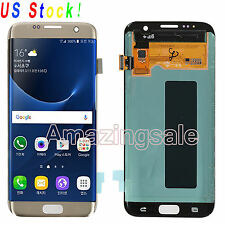 For Samsung Galaxy S7 Edge G935A G935T G935F LCD Screen Touch Digitizer US Gold