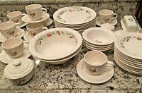 VINTAGE Pfaltzgraff Dinnerware BERRY BASKET (Circa 1995-1997) 43-Piece Set
