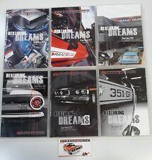 RESTORING DREAMS DVD - XR XT XW XY XA XB XC GS GT HO - SERIES 1 & 2 - 6 Discs