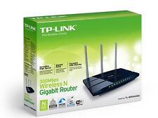 TP-LINK TL-WR1043ND Router 450MBPS Wireless N - 3 Antenne Rimovibili, 4 GbLan