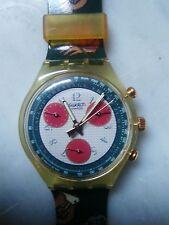 """orologio swatch CHRONO modello """"RIDING STAR"""" SCK 102 anno 1993 NUOVO"""