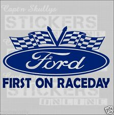 FORD OVAL DECAL First on R/day 190x100mm  Captn Skullys Stickers Online MPN 2023