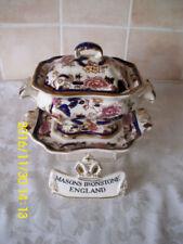 Mandalay Blue Masons Pottery Tureens
