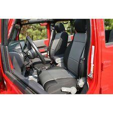 Gray Neoprene Front Seat Covers Jeep Wrangler JK 2007-2010 13214.09 Rugged Ridge