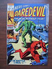 """""""DAREDEVIL"""" NO 50. MAR. 1969 VERY GOOD CONDITION, ORIGINAL OWNER!"""