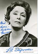 "LIL DAGOVER SILENT MOVIE ""I MARRY MY WIFE"" ACTRESS SIGNED PHOTO AUTOGRAPH"