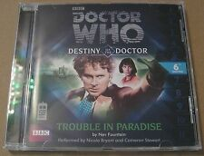 Doctor Who - Trouble In Paradise Audio Book Cd Nicola Bryant Cameron Stewart 6TH